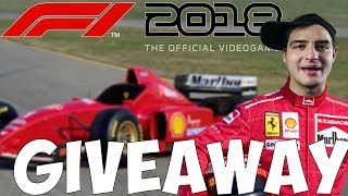 F1 2018! GIVEAWAY!