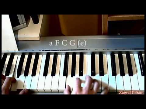 Bednarek Cisza Piano tutorial jak zagrać zagrajtosam2