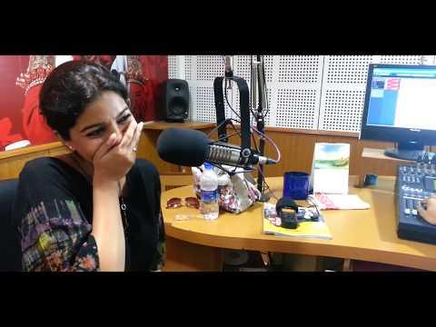 Amen Heroine Swathi's Leaked Video in Red FM studio