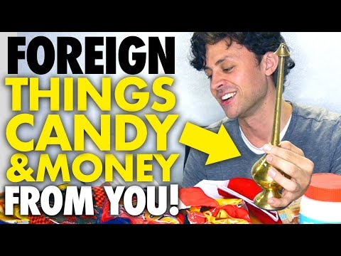 Weird foreign stuff my viewers mailed me