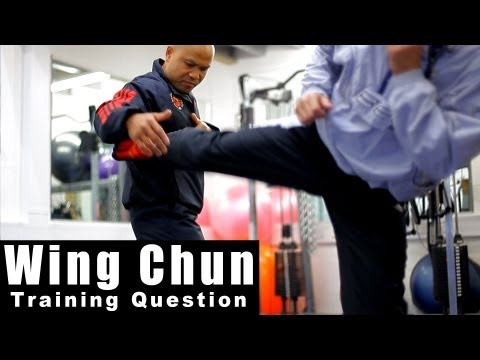 Wing Chun Techniques - How to deal with different kicks.Q8 Image 1