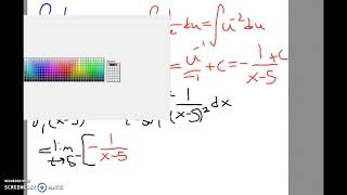 Improper Int with Infinite Discontinuity 2
