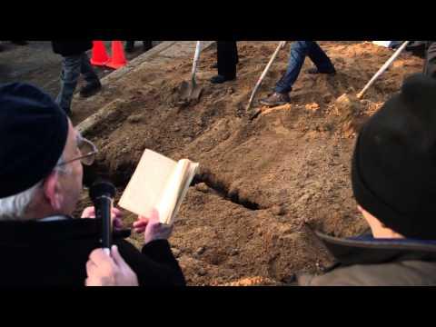 Iraqi Jewish Archive -- Burial of Damaged Torah Fragments
