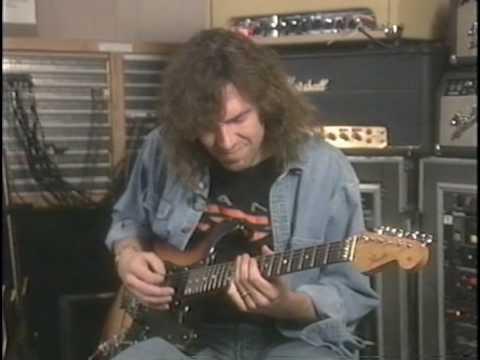 DANN HUFF- Instructional dvd-Studio work - Guitar technique /PART 5/