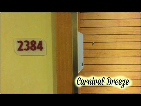 Carnival Breeze - Cove Balcony Cabin 2384