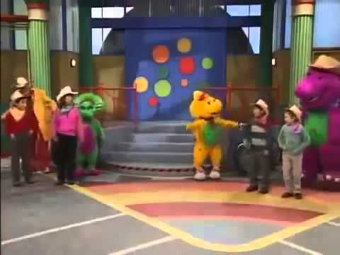 Barney round and round we go trailer