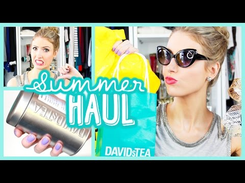 SUMMER HAUL: Forever 21, Target, Teas & ONE REGRET?!    || #HOMEVACAY