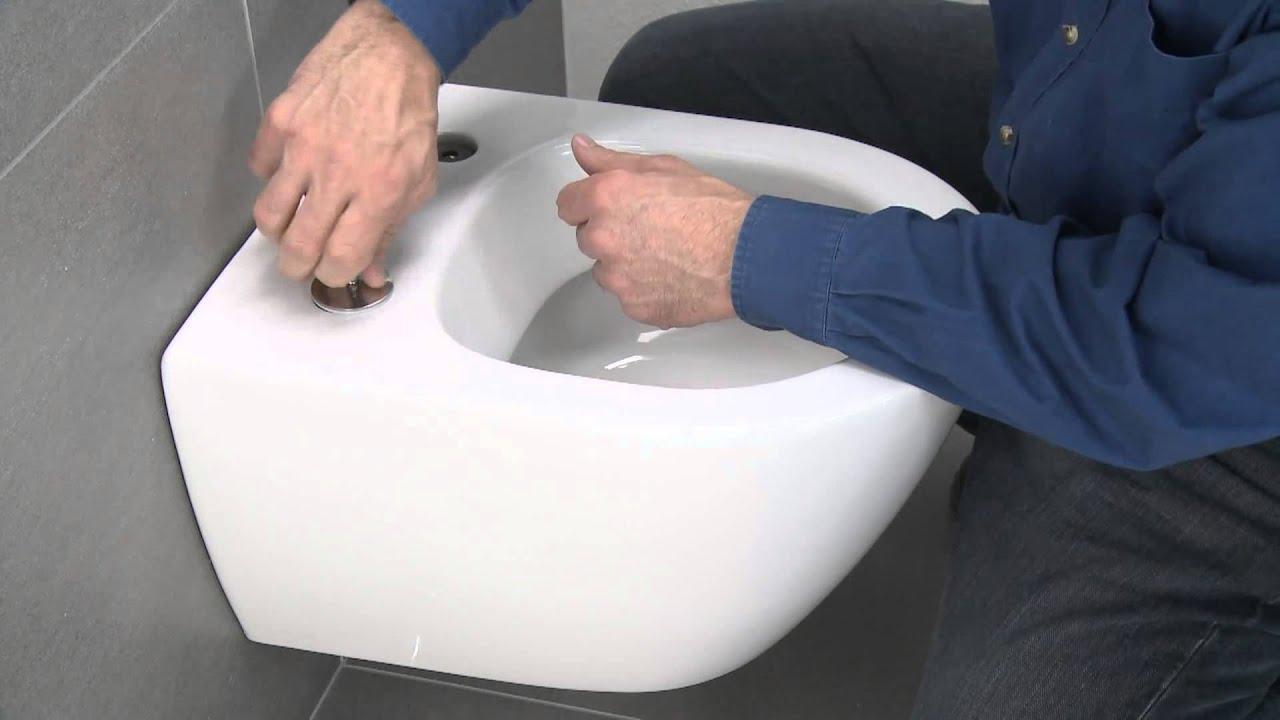 villeroy boch suprafix compact wc installation youtube. Black Bedroom Furniture Sets. Home Design Ideas