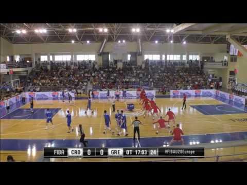 24/07/2016 18:45 CROATIA-HELLAS FIBA U20, Chalkida, Greece (T. KAMPOURIS HALL)