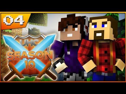 Minecraft Cube UHC: Season 10: Episode 4 Enchanting