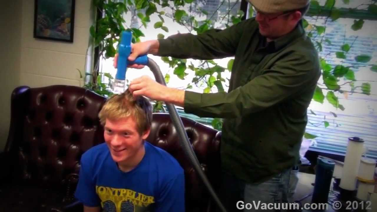 vacuum haircut machine