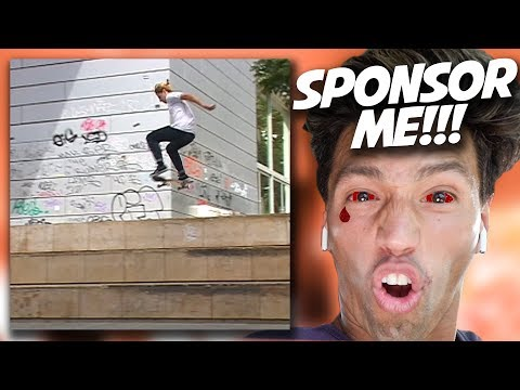 SHOULD I SPONSOR HIM?!  *Mind Blowing Sponsor Me Tape