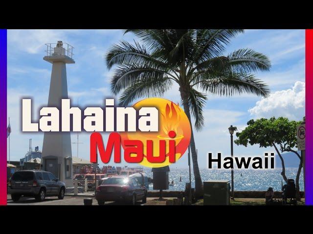 Lahaina Maui Hawaii Island Video