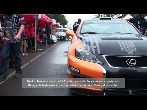 IS F CCS-R Highlights from Pikes Peak International Hill Climb