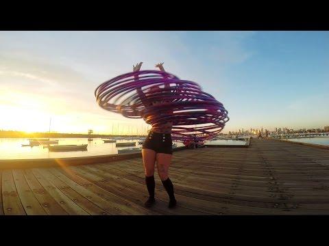 Gopro: 30 Hoop Hula video