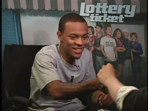 LOTTERY TICKET Interviews with Bow Wow, Ice Cube, Brandon T. Jackson and Terry Crews