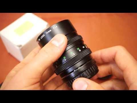 Портретный объектив Olympus Panasonic Four Thirds System 3/4
