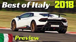 Best of Italy Race/Festival 2018 - Trackday at Varano de' Melegari - Aston Vulcan, Lambo & More!