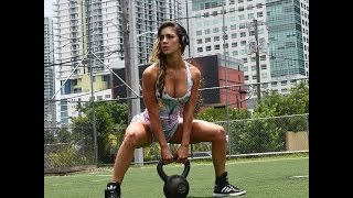 Rock Hard Abs with Fitness Model Anllela Sagra