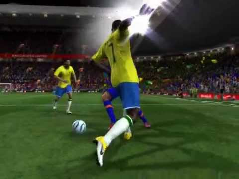India Vs Brazil- Part 1(Promo)-Fifa 11 PC