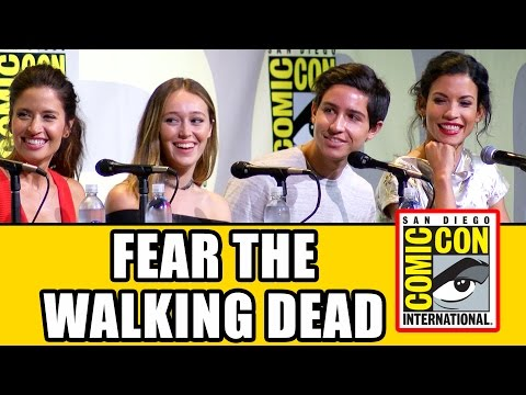 FEAR THE WALKING DEAD Comic Con 2016 Panel Highlights - Alycia Debnam-Carey, Cliff Curtis