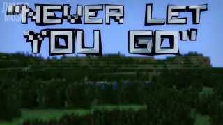 НИКОГДА НЕ ОТПУЩУ ТЕБЯ/Never Let You Go Minecraft Song