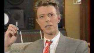 David Bowie introduces his own videos - MTV 1993 Part 2/2