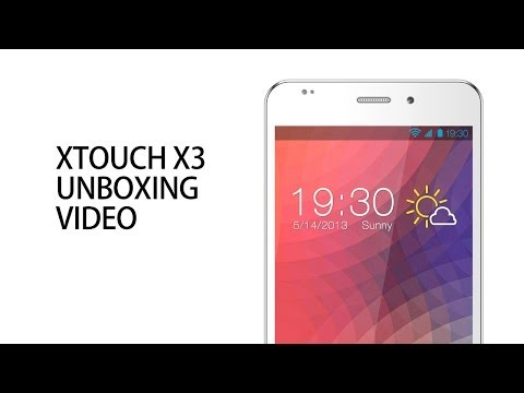 XTOUCH X3 Smart Phone   Unboxing Video