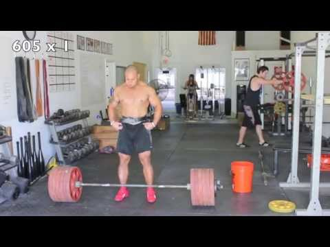 Dead Lift Workout - Elliott Hulse Image 1