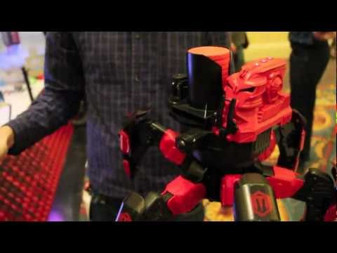 Attacknids Combat Creatures Battling Robots from CES 2013
