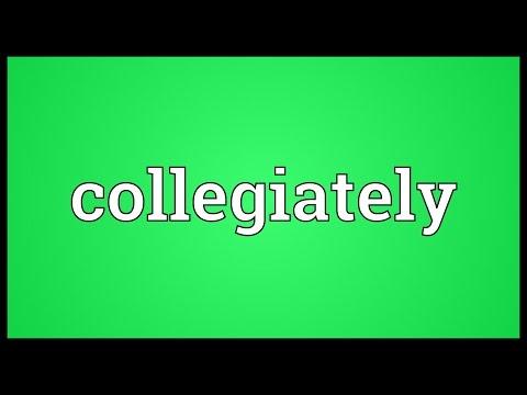 Header of collegiately