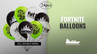 Fortnite Balloons [2018 Best Sellers]: CQI Fort-nite Party Supplies Balloons - Kids for-tnite