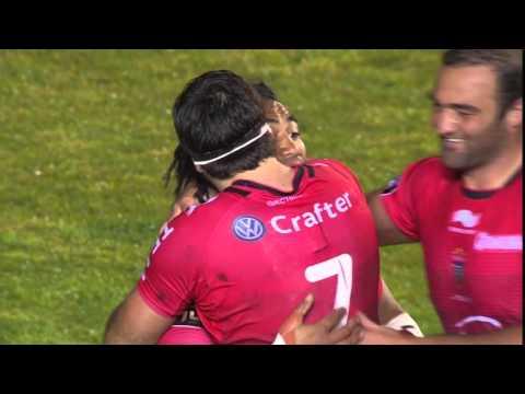 TOP 14 – Toulon - Castres : 17-7 Essai Ma'a NONU (TLN) – J23 – Saison 2015-2016