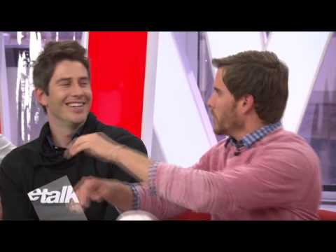 The Bachelors at ETALK while on the press junket for Eligible Magazine