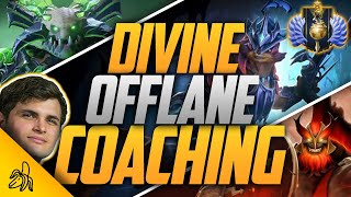 BSJ 4.6k Offlane Coaching Session - Following Up On Last Week's Winning Formula | Dota 2 7.25