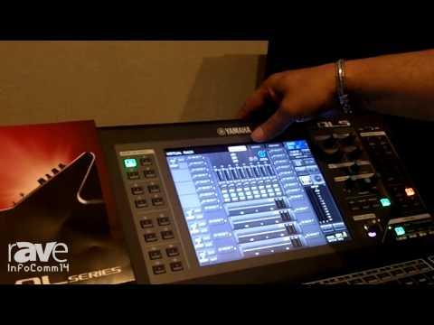 InfoComm 2014: Yamaha Showcases its QL Series Digital Mixing Console