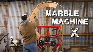 Fabricating Parts for Wintergatan and the Marble Machine X