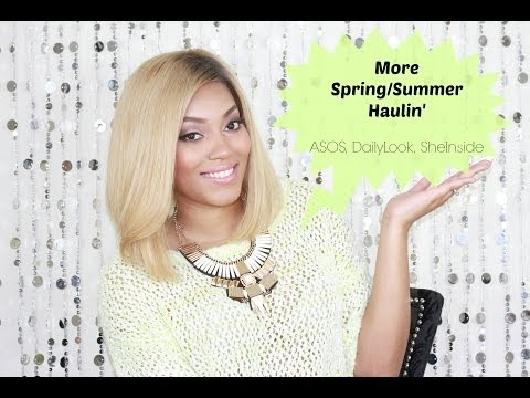 {Fab Finds} More Spring Summer Haulin' | ASOS, DailyLook, SheInside