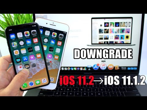 How to Downgrade iOS 11.2 To iOS 11.1.2 | Important for Jailbreakers