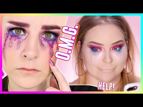 Cover Lagu I TRIED FOLLOWING A SIMPLY NAILOGICAL MAKEUP TUTORIAL... WOW!