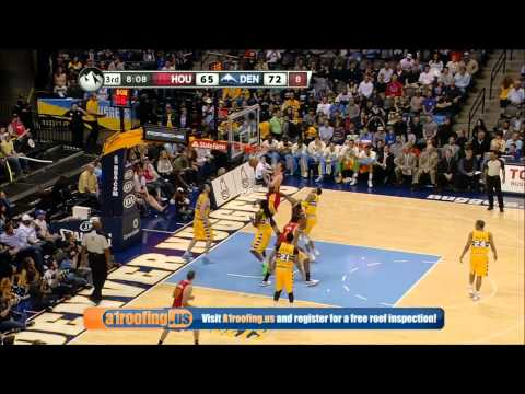 Rockets vs Nuggets | Lin ( 23 PTS ) + Team Highlights (4-6-2013)