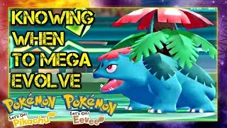 Pokemon Let's Go Pikachu & Eevee Wi-Fi Battle: Knowing When to Mega Evolve