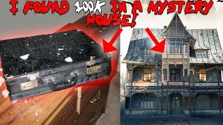 I FOUND A MYSTERIOUS HOUSE IN THE WOODS // SECRET SPIDER TUNNEL FOUND! | MOE SARGI