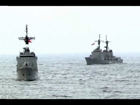 Sisters Del Pilar and Alcaraz Naval Drill in the West Philippine Sea