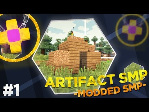 Minecraft Modded Artifact SMP : THE YOUTUBERS CHALLENGE!