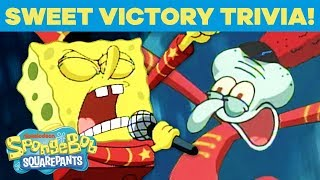 'Sweet Victory' Fun Facts! 🎶 Classic SpongeBob Trivia | #TuesdayTunes