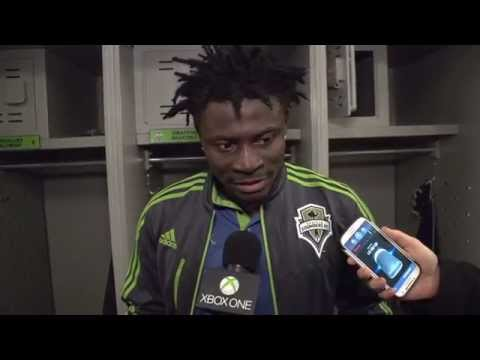 Interview: Obafemi Martins post-match at Colorado Rapids