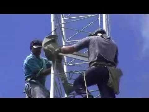 PY5KD Tower Installation