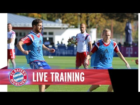 FC Bayern Training - Whole session