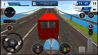 EURO BUS DRIVING SIMULATOR 2018 RED BUS UNLOCKED ANDROID GAMEPLAY FHD